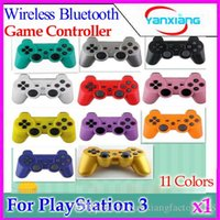 Wholesale Wireless Bluetooth Game Controller Gamepad for PlayStation PS3 Game Controller Joystick for Android video games colors ZY PS