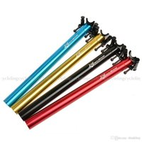 Wholesale ROCKBROS Road Bike Bicycle MTB Alloy T6 CNC Seatpost Seat Post mm mm Colors Blue red Golden Black