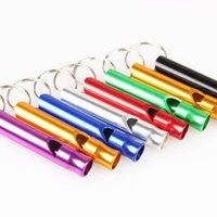 aluminium whistle - PC Aluminium Alloy Pet Puppy Dog Animal Training UltraSonic Supersonic Obedience Sound Whistle Colors Available