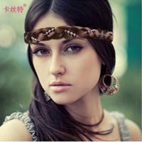 Wholesale Manufacturers selling Korean hair braids pearl twist braiding ribbons wig and novel appearance