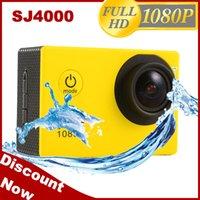 Wholesale Original SJ4000 Waterproof Sport DV HD Camera Camcorder Gopro Style Novatek P fps MP H Inch sport camera