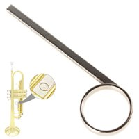 Wholesale High quality metal material durable to use Nickel Plated Trumpet rd Slide Finger Ring for Repairing Parts MIA_638