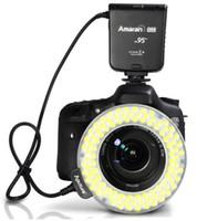 Wholesale Aputure LEDs Macro Ring Flash Light CRI95 for Canon D D D D D D