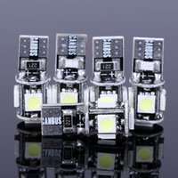 Wholesale T10 Canbus W5W SMD LED Error Free White Light Bulbs SMD T10 LED SMD Wedge Base No error LED Auto Light T10 W5W