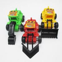 Wholesale New Kids Construction Trucks Model Plastic Dump Digger Work Lorry Kit Set Baby Toy c84 Freeshipping