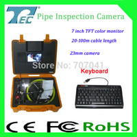 best abs video - best price video pipe inspection camera TEC Z710DK with m cable package in ABS case