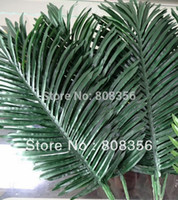 artificial palms - 10pcs Artificial Leaves Simulation Plants Fake Palm Tree Leaf