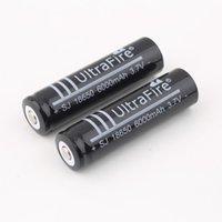Wholesale Ultrafire MAH V li ion lithium battery cell batteries for led flashlight torch laser pointer
