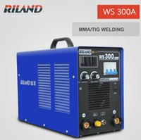 arc welding copper - Portable Inverter TIG welding machine TIG300A MMA TIG Dual Purpose TIG welder V WS300A Welder Welding Stainless Steel Copper