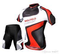 Wholesale 2014 New Tour De France Cycling Clothing Men Short Sleeve Jersey Shorts Pants Cycling Clothes Mountain Riding Bike Wear Set