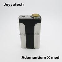 best buy batteries - Best Selling Mechanical Vape Mods Dual Batteries Buy E cigs Mods Adjustable Postive Pin Best Atomizer Mods Adamantium X mod