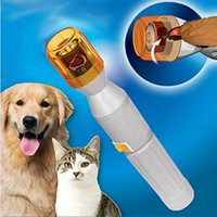 Wholesale Pet Nail Grooming Care Grinder Trimmer Clipper File Tools Electric Grooming for Dog Cat Dog Finger Sets