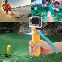 Wholesale 2015 New Arrival Yellow Water Floating Hand Grip Handle Mount Float Accessory for Gopro Hero Price