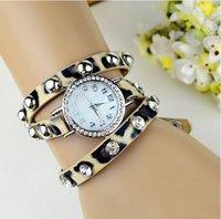 leopard watches - high quality Selling fashion bracelet watch female leopard ladies watches watches WA0043