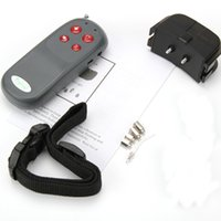 Wholesale New No Harm Electric in Remote Control Small Medium Large Dog Training Shock Vibrate Collar Anti Bark