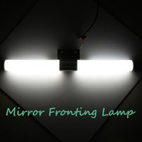 Wholesale 12W SMD White LED Mirror Front Light Lamp Bedroom Bathroom Wall Stainless Steel Body AC220V