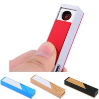 Wholesale Rechargeable Portable USB Electronic FlaTDEess Cigarette Cigar Lighter