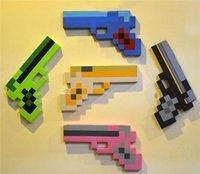 Рождественский подарок Minecraft мои мировые EVA пены бриллианты пистолет пистолета оружие handarm оружие кирку меч игрушка игры для мальчиков детей детей горячими