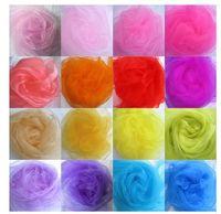 gauze fabric - 2015 Tecido Ofertas Fabric African Wax Prints Sheer Decorative Yarn Crystal Marriage Gauze Curtain Decoration Wedding Roll