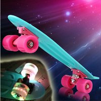 Wholesale DIY Pastel Color Original Longboard quot Skateboard Board Boy Girl Retro Cruiser Skate Board Skateboard Complete