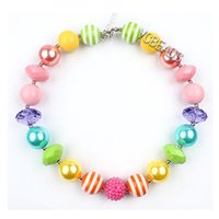 decoration jewelry colors - Photography Props Baby Fancy Jewelry Christmas Decoration Candy Colors Rainbow Necklaces Beaded Necklaces