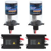 12V 35W 3200lm H4 HID Xenon Kits lámpara bombilla Monohaz linterna del coche con 5 Diferente Temperatura de color disponible CLT_403