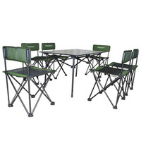 camping table - furniture outdoor portable folding table and chair aluminun steel for children office study metal in garden family car camping travel
