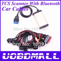 Cheap 2014.01V TCS Scanner OBD2 OBD II Diagnostic Tool Tcs Cdp Pro Plus With Bluetooth + Car Cables Best Quality DHL Free Shipping