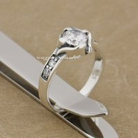 Cheap 925 Sterling Silver Best White CZ Ring