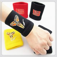 sweatbands - Wrist Support Wristband Unisex Cotton Sweat Band Sweatband Wristband Arm Band Basketball Tennis Gym Yoga Towel Color Sports Sweatband Zipper