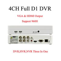 Wholesale CCTV CH H DVR H HDMI High Definition Full D1 CH stand alone Digital Video Recorder security DVR HVR NVR three in one