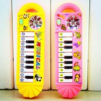 bb battery - New pc Cute Music Keyboard Without Battery Color Random Age Baby Kid Piano Music Developmental Toy BB