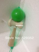 Wholesale Hot sale Big size Kendama Ball Japanese Traditional Wood Game Toy Education GiftE