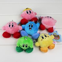 0-12 Months baby kirby - Set New Kirby Plush toys Standing Pose Doll cm set plush pendant baby toys