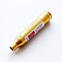 Wholesale 7mm REM MAG Cartridge Bore Sighter Red Laser Colimador Bala Laser Hunting Equipment Riflescope