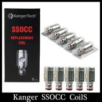 Wholesale Kanger SSOCC Coil Head clone ohm Ni200 ohm ohm Kathal Wire Coil fit Subtank Series Toptank Nano Atomizers Subtank nano NEBOX
