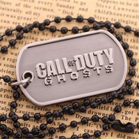 Wholesale Call of Duty Ghosts Ghost Limited Edition Call of Duty Surrounding Necklace Pendant B35341