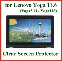 Wholesale 50pcs Clear Screen Protector for Lenovo Yoga Yoga2 Yoga11S No Retail Package Protective Film