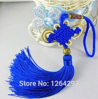 Wholesale 6 colors FengShui Chinese Knot Hanging Tassel Good Fortune Luck Wealth Prosperity China Hang Crafts for gift and decoration