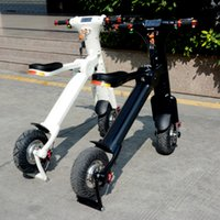 aluminum alloy types - Newest style product folding electric scooter electric bikes pedelec with lithium battery new life style for peop e