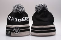 Wholesale Raiders football knit beanie hats Winter Knit Cap Beanies baseball basketball football teams beanies Albums offered YP