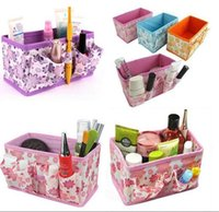 Wholesale 2016 New Arrival Korean Functional Home Storage Organization Desktop Cosmetic Storage Box Hanging Storage