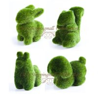 Wholesale 12 Freeshipping artificial grass land cute animal design decorations eye release fatigue Artificial Turf holiday gift order lt no tr