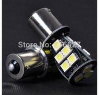ba15s led bulbs - 1157 BA15S P21W Xenon LED SMD CANBUS DRL WHITE ERROR FREE REVERSE