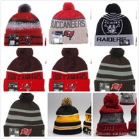 Wholesale 2015 Winter High Quality Beanie For Men Women Tampa Buccaneers Skullies Knit Cotton Hats HipHop Free fast Shipping