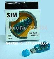 backup protectors - High Quality New Usb Sim Card Reader Writer Copy Clone Backup GSM CDMA Sim Reader And Sim Card Protector