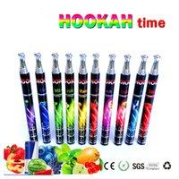 Cheap 800 Puffs E Shisha Hookah Pens Disposable Hookah Pens Individual Packed E pen smoke Metal Tip 10 Flavor E Cig E Cigarette