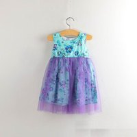 fairy - 2015 Summer New Girls Sun Flower Gauze Dresses Fairy Sundress