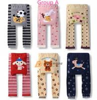 Wholesale 18pcs Boys Girls cute Leggings Baby Infant PP Pants Toddler Tights Leg Warmer children trousers models to choose J111102