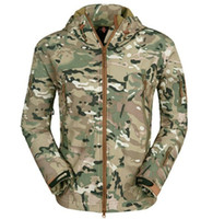 airsoft hoodies - Fall Men Hunt Hike Camp Climbing Airsoft Survival Game Outerwear Hoodie Coat Jacket R